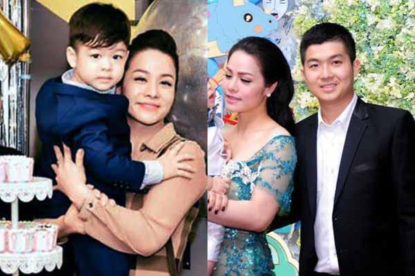 Nhật Kim Anh gặp lại chồng cũ trong sinh nhật con