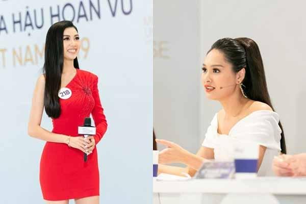 Thúy Vân gặp bất lợi lớn khi giám khảo Hoa hậu Hoàn vũ 2019 chỉnh đốn