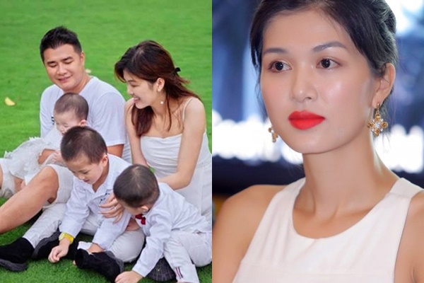 Một hoa hậu nổi tiếng mang thai con thứ 6 cho đại gia