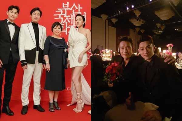 Isaac so kè vẻ điển trai cùng tài tử xứ Hàn Lee Byung Hun