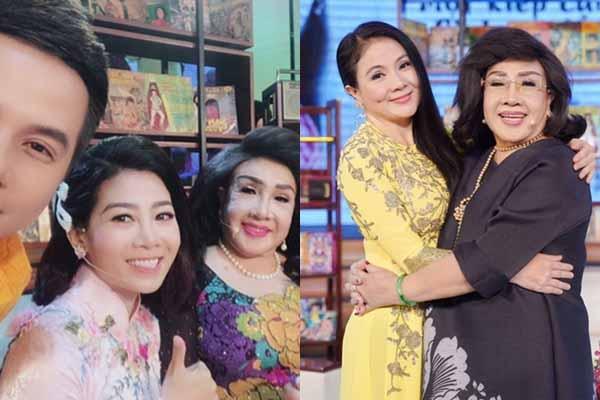 Mai Phương, Thanh Ngân tham gia hồi ký của nghệ sĩ Lệ Thủy