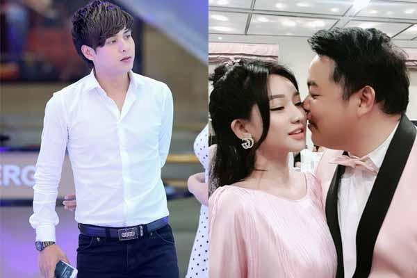 Lộ ảnh Quang Lê hôn vợ cũ Hồ Quang Hiếu