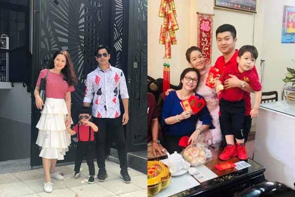 Ngọc Lan hạnh phúc bên Thanh Bình, Nhật Kim Anh quây quần ông xã