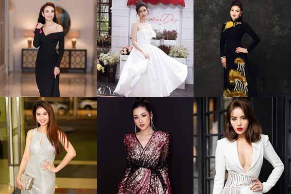 Người đẹp sang Mỹ, diễn viên truyền hình mặc ấn tượng tuần qua (21 - 27/19)