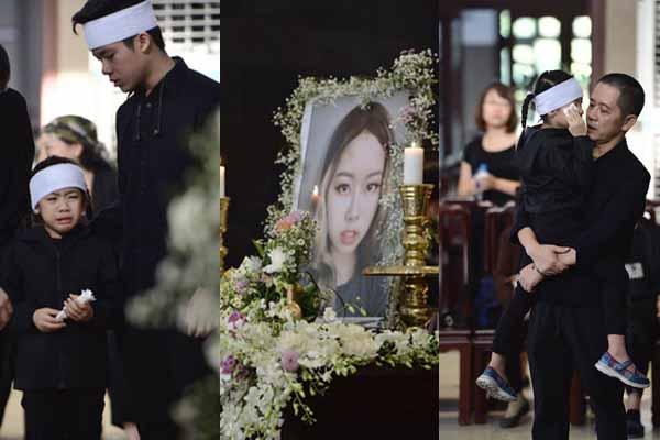 """Đám tang đẫm nước mắt của con gái đạo diễn """"Những ngọn nến trong đêm"""""""