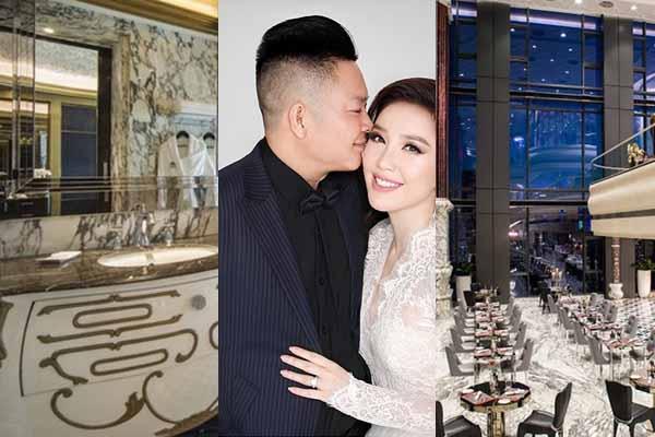 Đám cưới Bảo Thy xa hoa hơn hẳn Đông Nhi, phòng 350 triệu/đêm ngay trung tâm