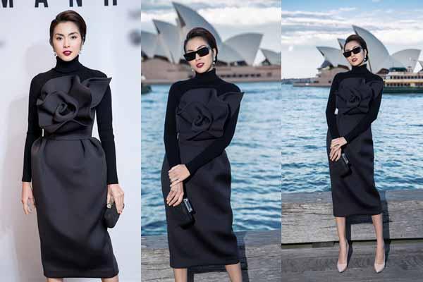 Lâu ngày xuất hiện, Tăng Thanh Hà chiếm trọn tâm điểm show thời trang