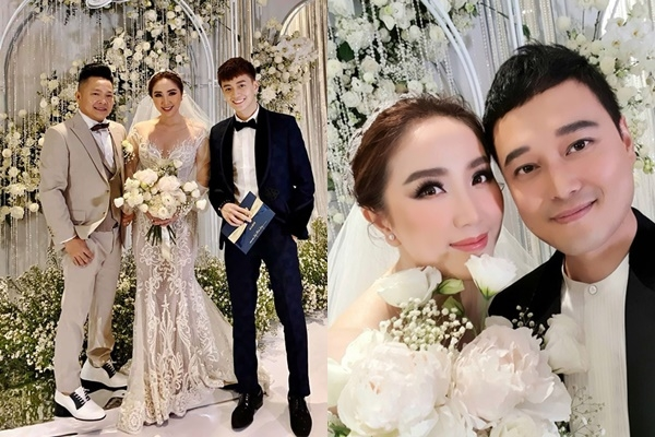 Đám cưới Bảo Thy: Quang Vinh bí mật xuất hiện, Ngô Kiến Huy điển trai không ngờ