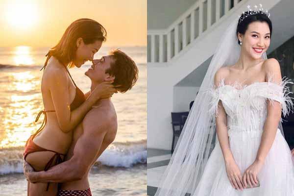 """Hoàng Oanh gặp """"rắc rối"""" trước ngày cưới chồng Tây ra sao?"""