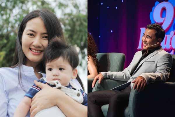 Quyền Linh hỏi chuyện làm mẹ đơn thân khiến Ngọc Lan lúng túng