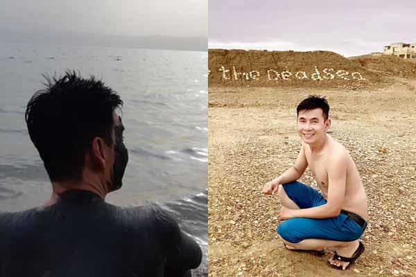 Đoan Trường 'diễn sâu' ở Biển Chết