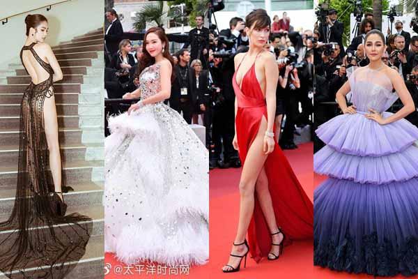 Không thể tin được: Ngọc Trinh lọt top mặc đẹp nhất Cannes 2019 cùng dàn sao quốc tế