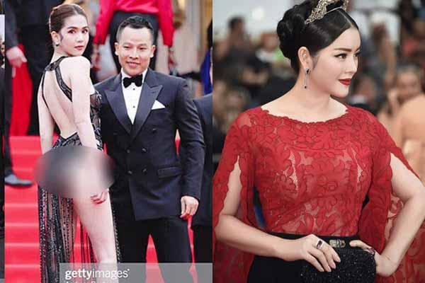 Phía Ngọc Trinh, Quách Ngọc Ngoan 'đá xéo' Lý Nhã Kỳ bỏ tiền đi Cannes để thu hút chú ý