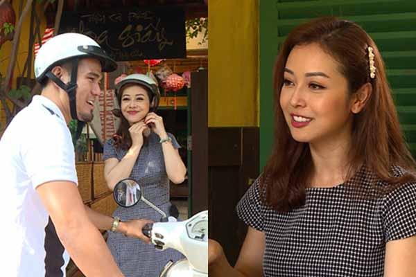 Jennifer Phạm mời Phan Thanh Bình ăn mì quảng, đi phương tiện bình dân