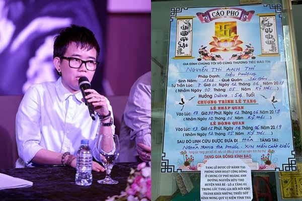 Chị gái Phương Uyên qua đời ở tuổi 54