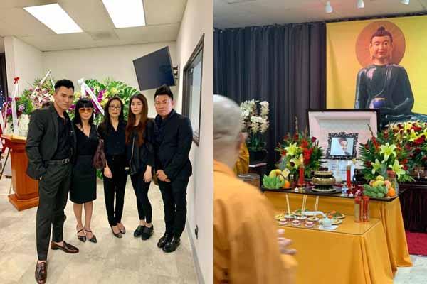 ĐỘC QUYỀN: Cay mắt hình ảnh đám tang nghệ sĩ Anh Vũ tại Mỹ