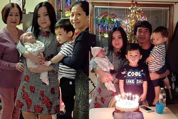 'Bé' Xuân Mai tiết lộ lý do sinh 3 con trong 5 năm