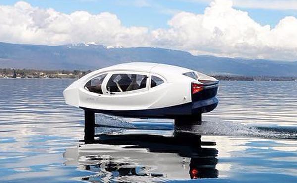 Taxi bay được thử nghiệm trên sông Seine, Pháp