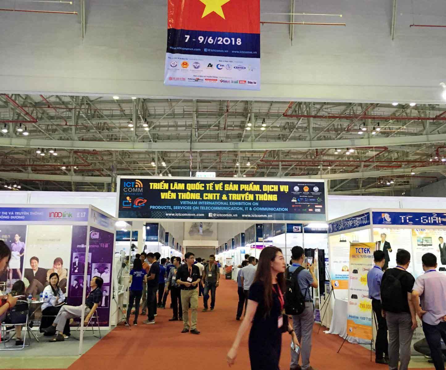 Triển lãm Telefilm 2018 thu hút đông đảo khách tham quan