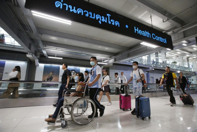 Bệnh phổi lạ Trung Quốc xuất hiện tại Thái Lan