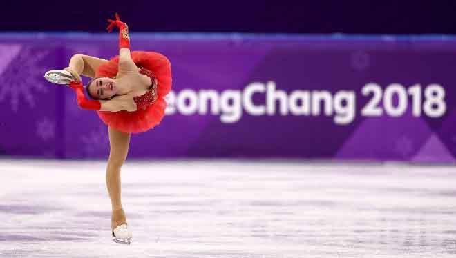 Xem 'thiên nga 15 tuổi' giúp Nga giành HCV đầu tiên tại Pyeongchang 2018