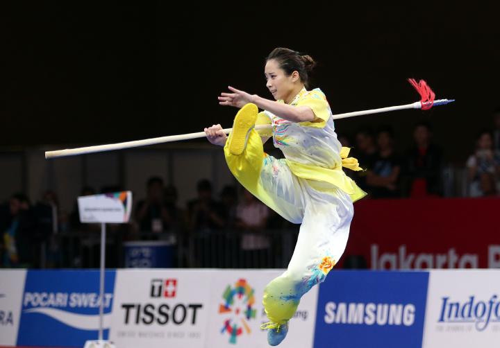 Wushu đem về hai huy chương quý giá cho Việt Nam