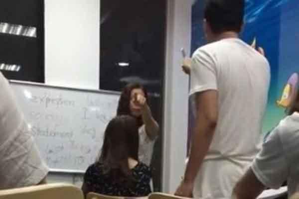 Trung tâm tiếng Anh có cô giáo gọi học viên là 'óc lợn': chưa có giấy phép hoạt động