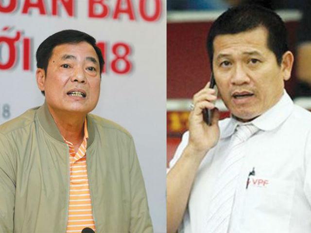 VPF họp xử lý ông Trần Mạnh Hùng trong chiều nay