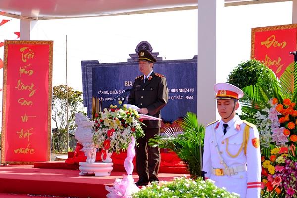 Lễ tưởng niệm các chiến sĩ hy sinh vì nhiệm vụ mở đường tại Đắk Nông