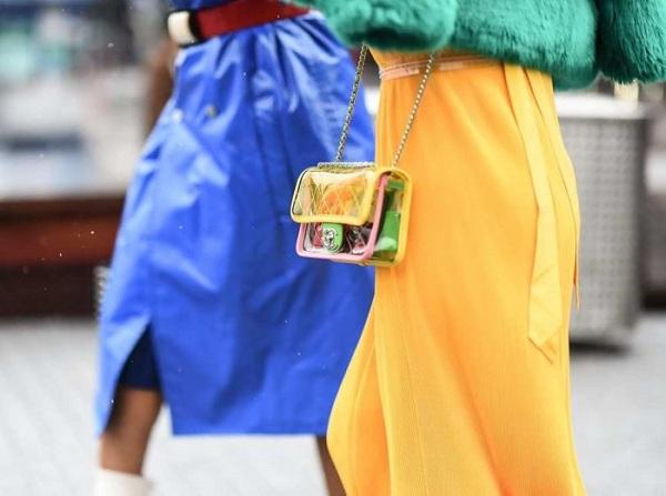 Túi xách trong suốt - điểm nhấn thời trang năm 2018