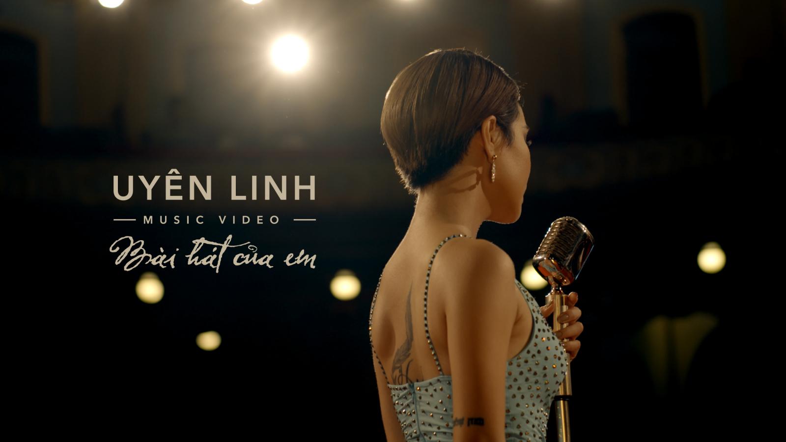 Uyên Linh ra mắt MV Bài hát của em