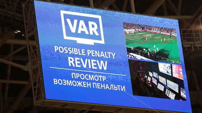 Công nghệ VAR sẽ được áp dụng tại Champions League mùa tới