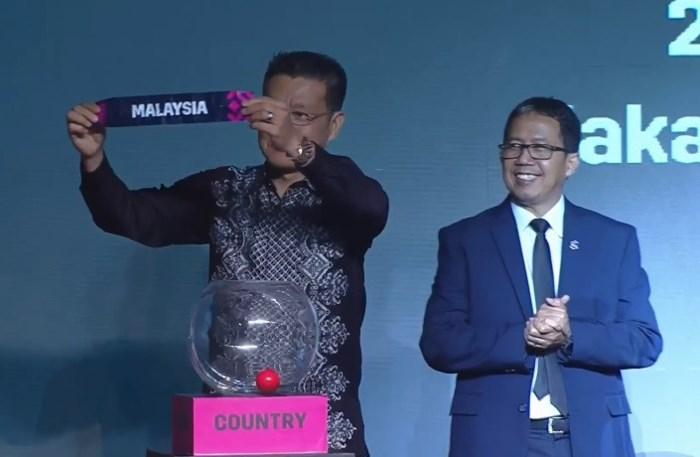 Việt Nam đụng Malaysia, Myanmar, Campuchia, Lào tại AFF Cup 2018