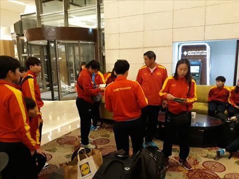 ĐT nữ Việt Nam đặt chân tới Jordan để chuẩn bị cho giấc mơ World Cup
