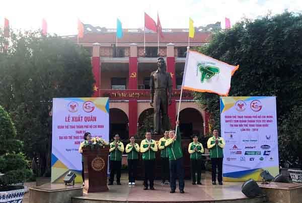 Gần 1000 VĐV Tp.Hồ Chí Minh bay Jetstar Pacific dự Đại hội Thể thao toàn quốc