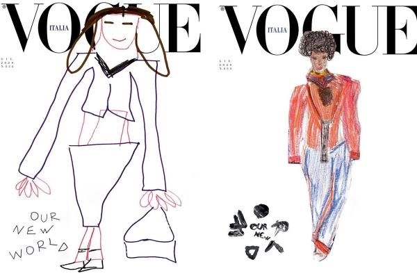 Câu chuyện ý nghĩa về bức vẽ nguệch ngoạc trên bìa tạp chí Vogue