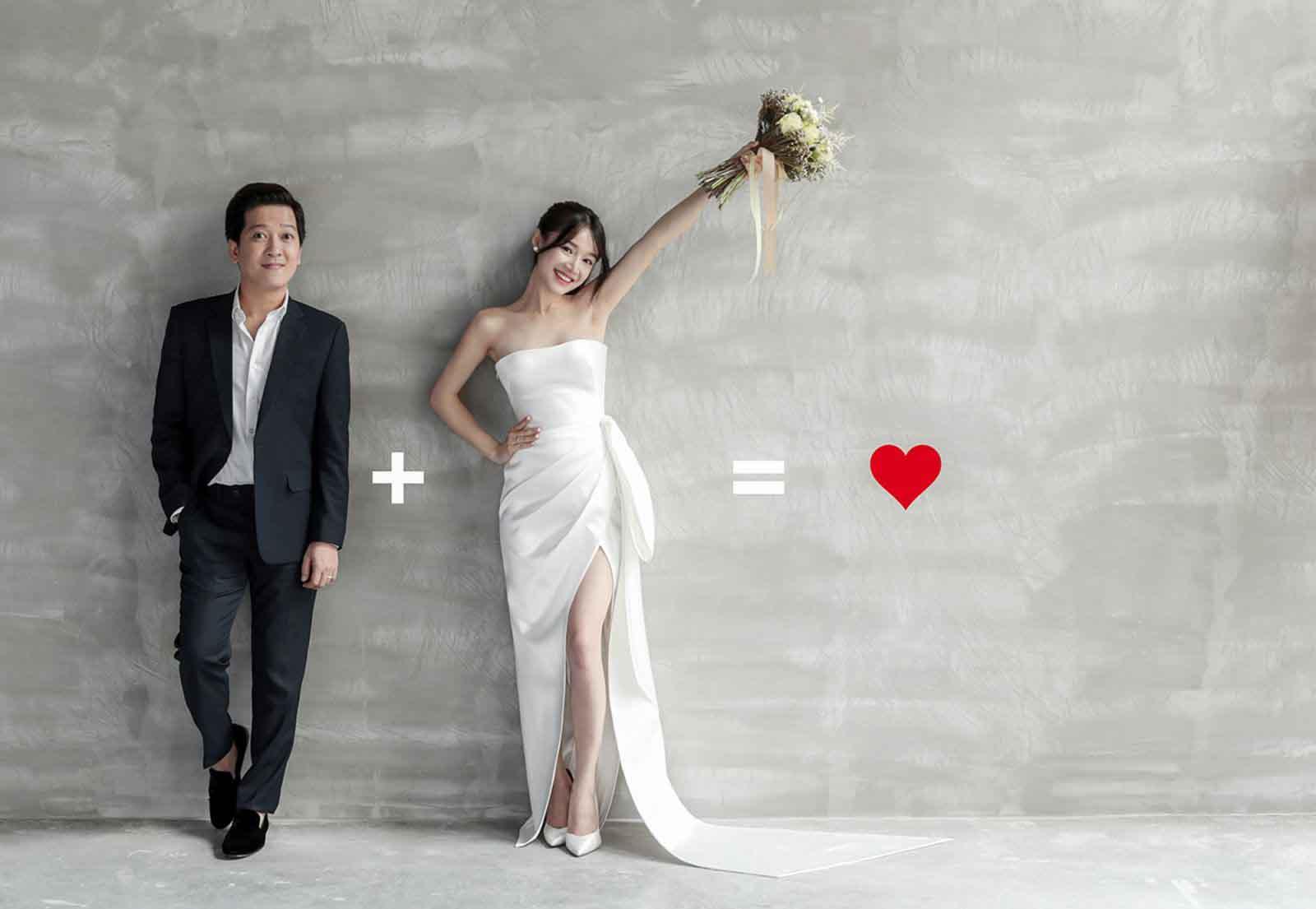Nhã Phương - Trường Giang khoe bộ ảnh cưới tuyệt đẹp