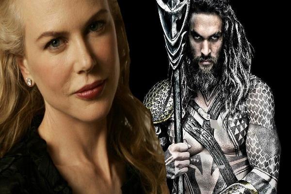 """""""Aquaman"""" đánh dấu lần thứ hai Nicole Kidman đóng phim siêu anh hùng"""