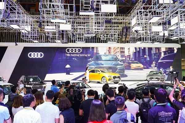 """Audi mang """"ngôi nhà quattro"""" ấn tượng đến VMS 2018"""