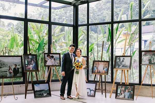 Tiệc cưới đặc biệt của cặp đôi trúng tiếng sét ái tình