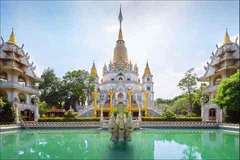 Hai ngôi chùa của Việt Nam là công trình kiến trúc Phật giáo được thế giới xếp hạng