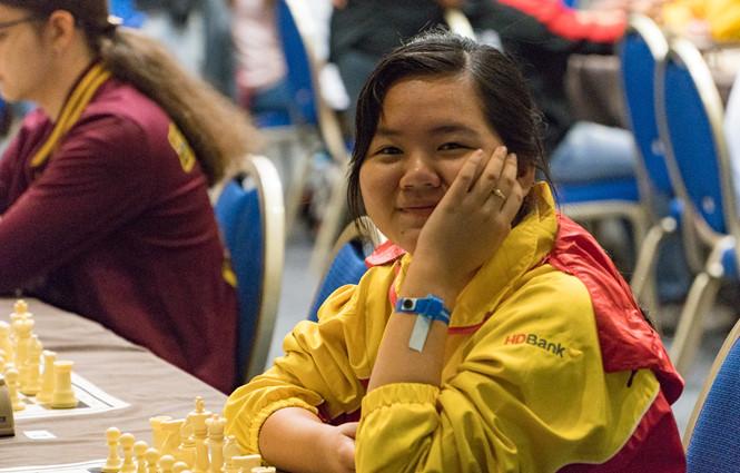 Bạch Ngọc Thùy Dương vô địch giải cờ vua trẻ thế giới 2018