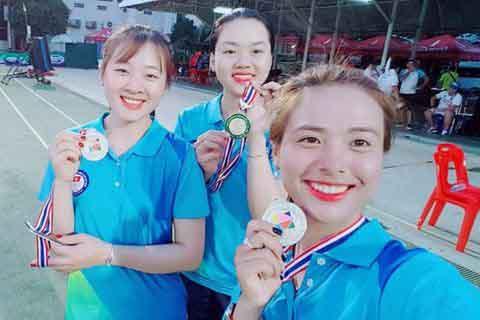 Các nữ cung thủ Việt Nam vô địch châu Á đúng ngày 8-3