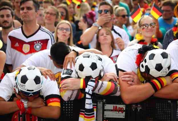 Báo chí Đức gọi thất bại của đội tuyển là 'một nỗi ô nhục lịch sử'