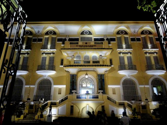 Khánh thành công trình chiếu sáng Bảo tàng Mỹ thuật TP.HCM với kinh phí gần 5 tỷ đồng