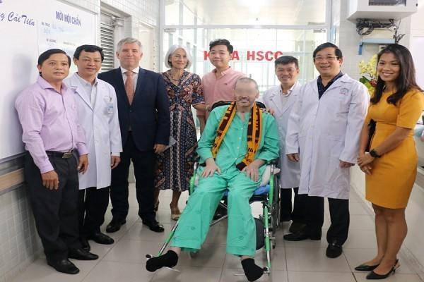 CDC Mỹ chúc mừng Bệnh viện Chợ Rẫy điều trị thành công bệnh nhân 91
