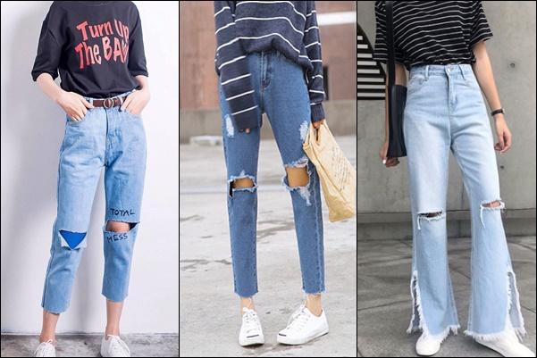 """Biến tấu nhiều cách phối đồ với 5 kiểu dáng quần jeans """"hot-trend"""""""