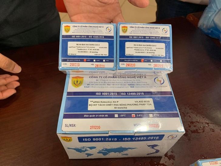 Bộ sản phẩm xét nghiệm COVID-19 của Việt Nam được WHO chấp thuận