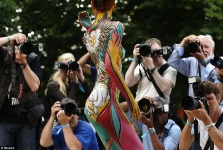 Body Painting: Khi người ngoài không hiểu, sẽ sinh ra nhiều hiểu lầm!