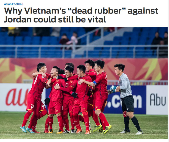 """Báo châu Á: """"Đây là khởi đầu cho một thế hệ vàng của ĐT Việt Nam"""""""